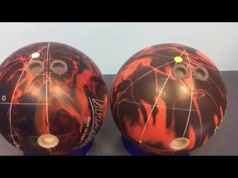 Bowler Compares Old Bowling Ball Technology To New Technology Youtube