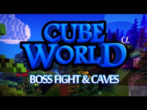 Cube World #2 - Boss Fight & Caves