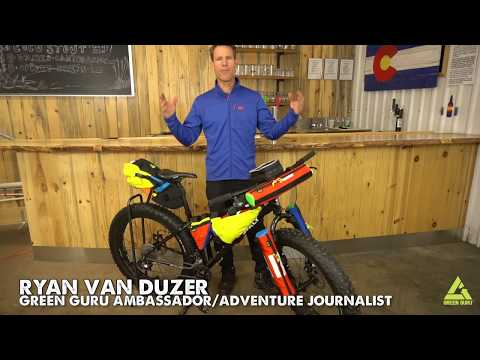 Green Guru Gear Bikepacking Gear