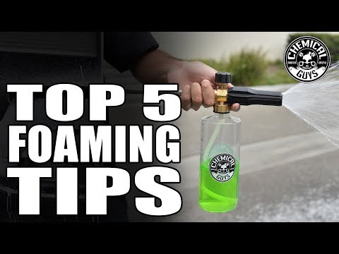 5 Tips On How To Choose and Operate your Foam Cannon - Chemical Guys Car Care