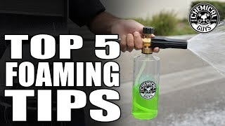 5 Tips On How To Choose and Operate your Foam Cannon - Chemical Guys Car Care thumbnail
