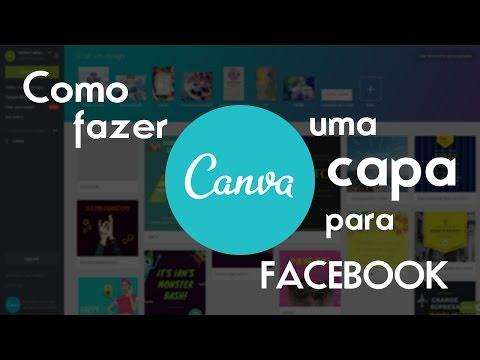 CANVA - Como Fazer Capa para FACEBOOK no CANVA - Criar CAPA para FACEBOOK ou FANPAGE
