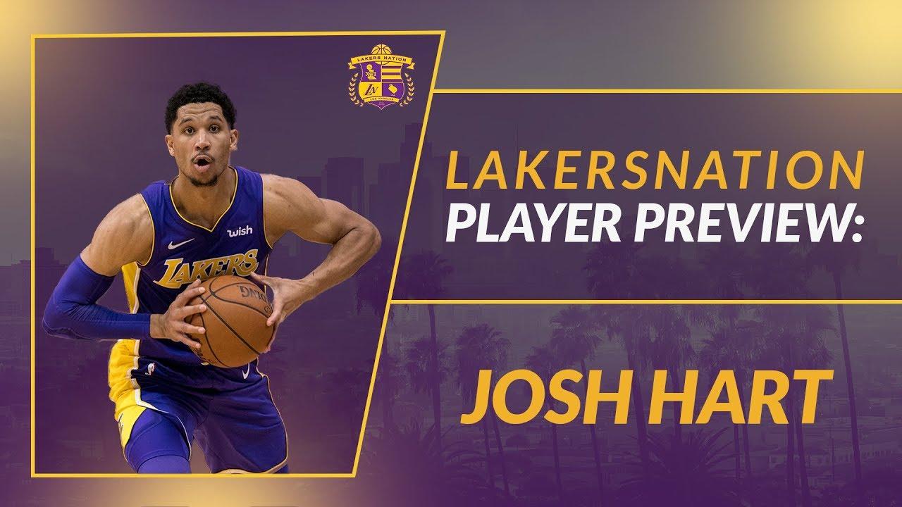 55e0db62a Lakers Season Preview  Josh Hart - YouTube