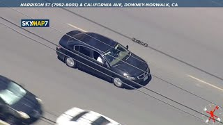 Police chase speeding vehicle driving recklessly across L.A. County | ABC7 Los Angeles