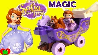 Disney Princess Sofia the First Magical Carriage Lego Duplo Build