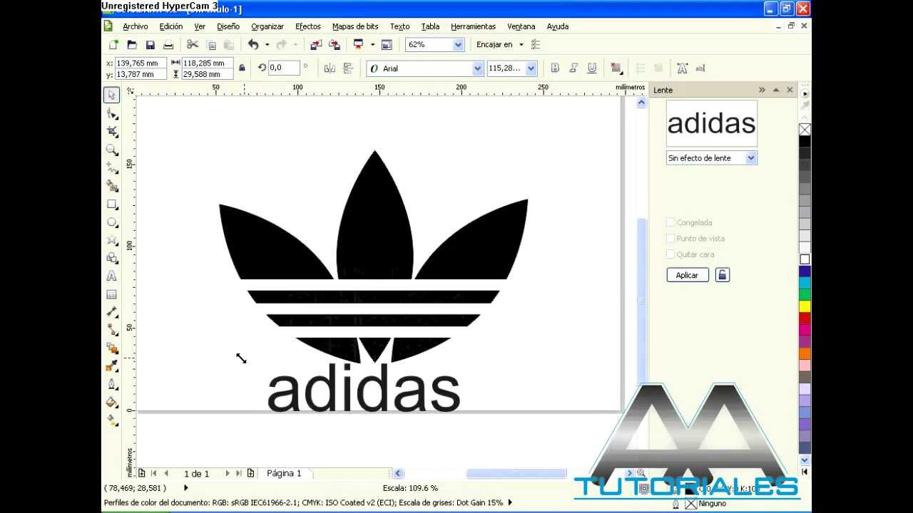 adidas logo vector corel