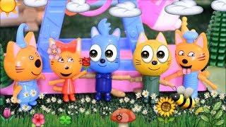 Три кота, новая  серия, Потерянное  пятно Гони, мультфильм Три кота