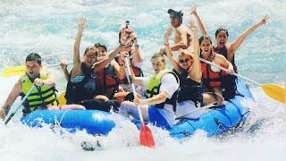 Rafting Weekend With The Fam