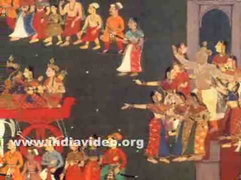 Painting from Ayodhyakanda of Ramayana