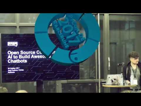 PyCon.DE 2017 Joey Faulkner - Rasa: open source conversational AI to build next generation chatbots