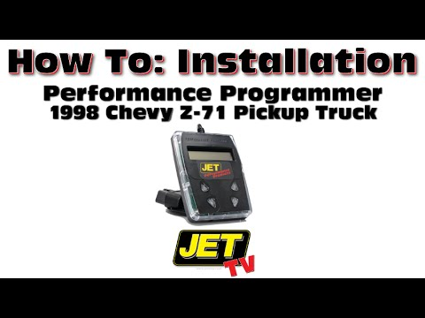 Programmer Install on 1998 Chevy Z-71 Pickup Truck