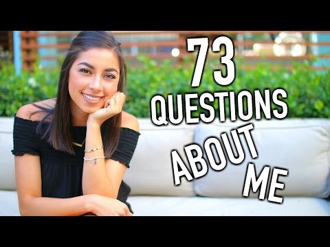 73 Questions About Me | Get To Know Me!