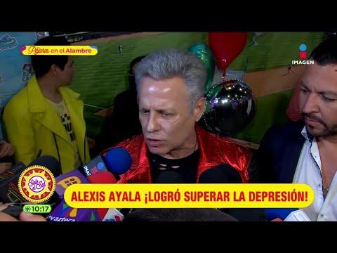 Alexis Ayala confiesa cómo logró superar la depresión que padecía | Sale el Sol