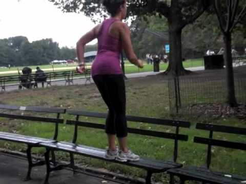 No Equipment Park Workout For Women-For Any Park!