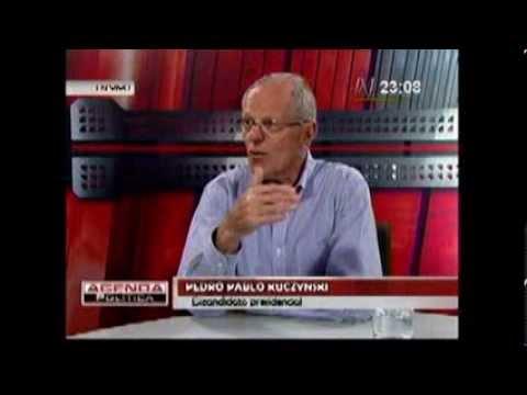 Entrevista a Pedro Pablo Kuczynski en Agenda Política (Canal N)
