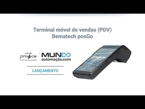 Terminal de vendas (PDV) Bematech posGo - Lançamento