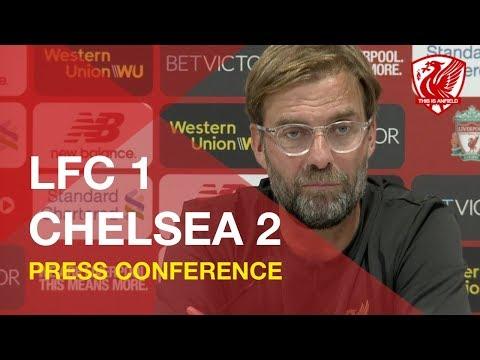Liverpool 1-2 Chelsea (League Cup) | Jurgen Klopp Press Conference
