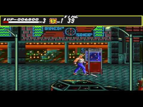 Sega Vintage Collection: Streets of Rage (SOR round 1)