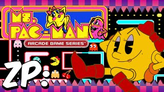Ms. Pac-Man (PS4) - Arcade Game Series - Zonic Plays