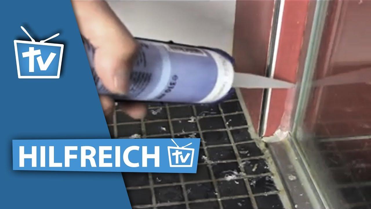 Anleitung: Silikonfuge Entfernen / Silkonfuge Ziehen / Silikonfuge