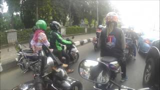 Riding Jakarta With Member XYI