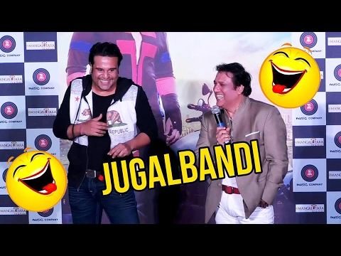 Govinda & Krushna Abhishek's COMEDY Jugalbandi At Aa Gaya Hero Trailer Launch Event thumbnail