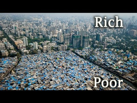 Rich vs. Poor  | Aerial photos of, Johannesburg, Mexico City, Mumbai, Durban,