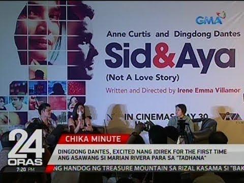 """Dingdong, excited nang idirek for the first time ang asawang si Marian Rivera para sa """"Tadhana"""""""