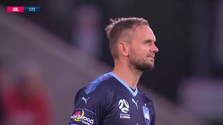 A-League 2018/19: Round 1 - Adelaide United v Sydney FC (Full Game)