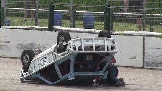 Crashes & Action! Speedway Posterholt 12/5/18