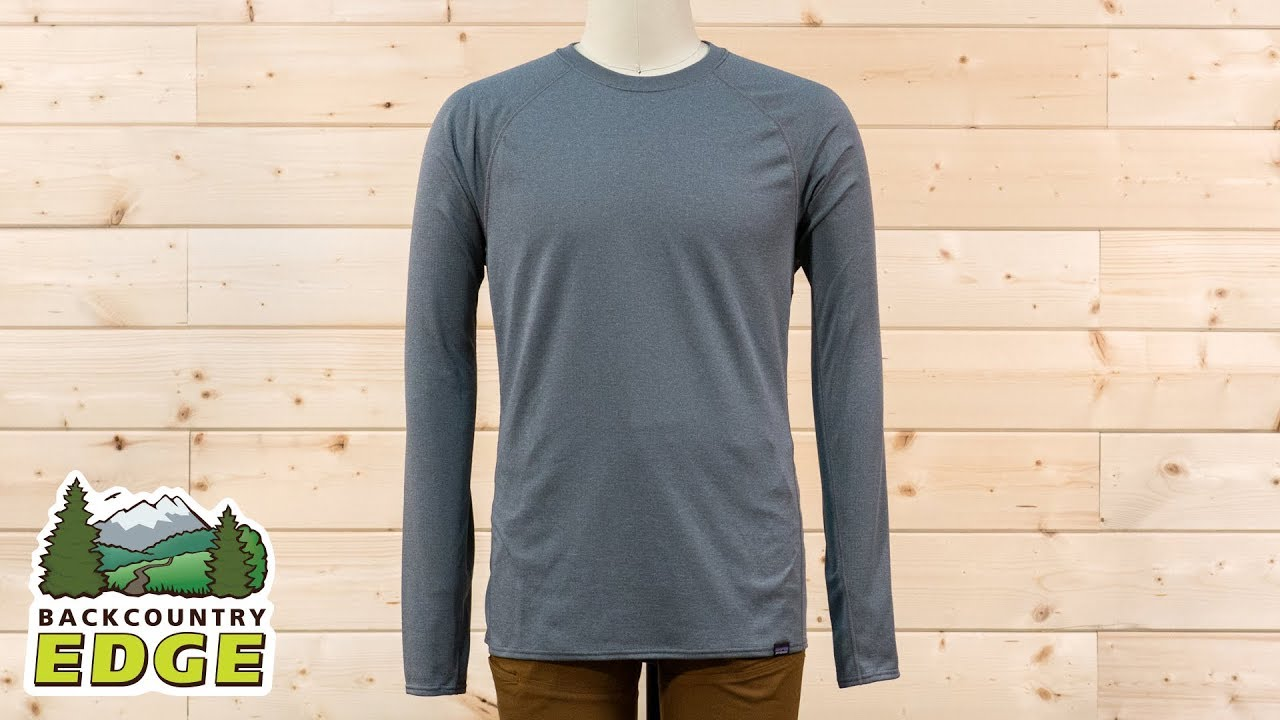 a6a0a9ea9 Patagonia Men s Capilene Midweight Crew - YouTube
