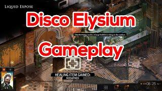 New Game | Disco Elysium | Gameplay 20 minutes