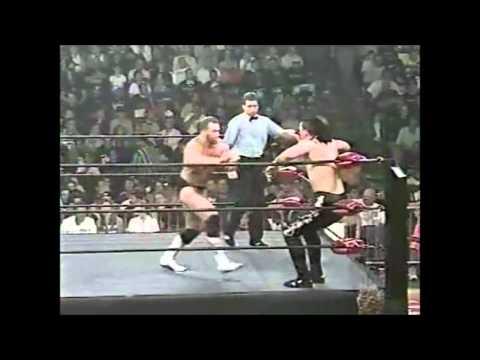 WCW Nitro 29/06/98 Vampiro's debut
