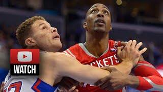 2014.02.26 - Blake Griffin vs Dwight Howard Battle Highlights - Clippers vs Rockets