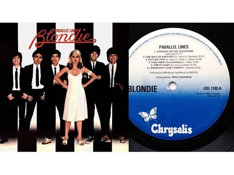 Blondie - Pretty Baby (Lyrics/Picture Slideshow)