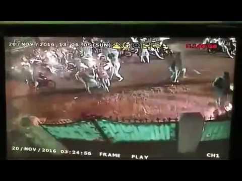 SADIS !! Penyerangan Geng Motor Di Cipayung Jakarta Timur