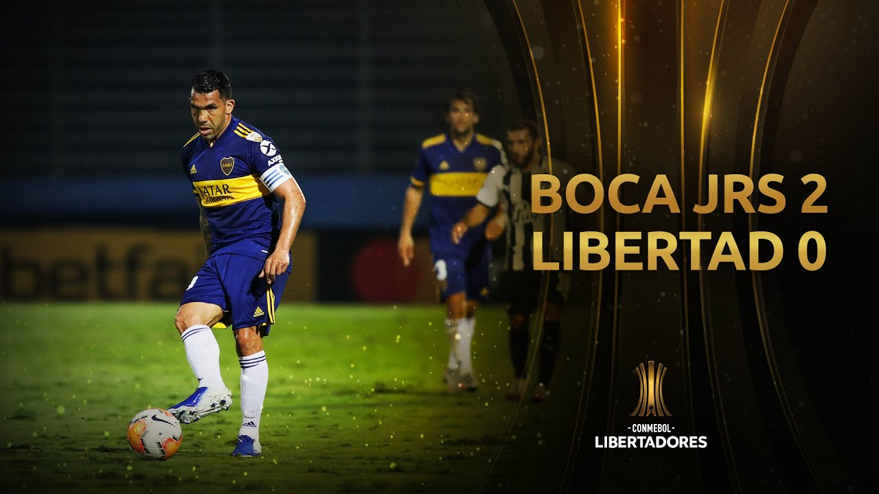 Libertad vs. Boca Juniors [0-2]   RESUMEN   Fase de Grupos   Jornada 3   CONMEBOL Libertadores 2020