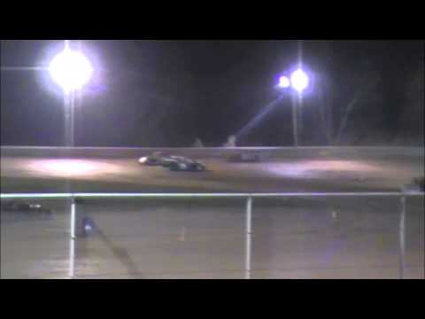 Ohio Valley Speedway AMRA Modified feature highlights 04/12/14