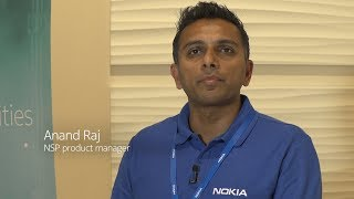 Anand Raj, Product Manager – Network Services Platform (NSP), demon...