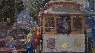 How to paint better city scenes with Ken Auster Online art classes