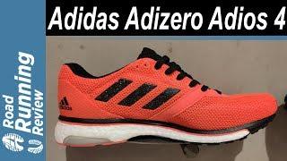 Adidas Adizero Adios 4 | Preparada para el dia de la competición