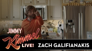 Zach Galifianakis on Shooting 'Baskets'
