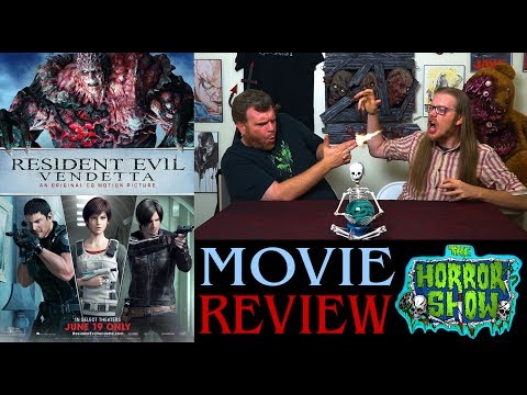"""Resident Evil: Vendetta"" 2017 CGI Horror Movie Review - The Horror Show"