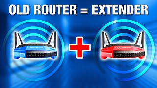 How to Convert an Old Router Into a WiFi Extender / Repeater