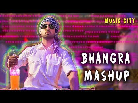 Non stop Bhangra Mix    Punjabi DJ Remix songs    Latest Punjabi Mashup 2017