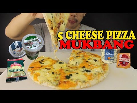5 CHEESE PIZZA(LARGE)!! MOZZARELLA,BRIE,CHEDDAR,BOCCONCINI AND BLUE CHEESE-BIG BITES