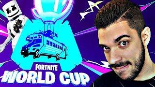 🔴LA WORLD CUP SOLO EN LIVE SUR FORTNITE ! LES MEILLEURS JOUEURS DU MONDE S'AFFRONTENT ! ( CAST )