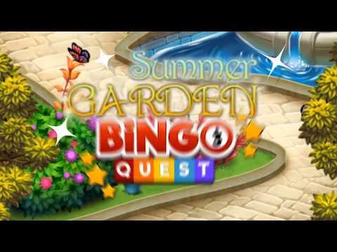 Bingo Summer Garden