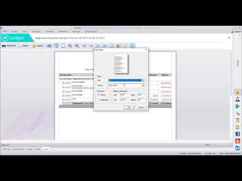 MaxxERP Software Session 4 - Accounts - Outstandings - Ledger - PDC - Journal - Debit/Credit Notes