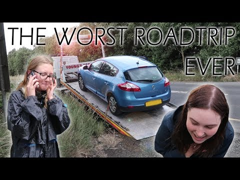 OUR RENTAL CAR BROKE DOWN in a FOREIGN COUNTRY!!